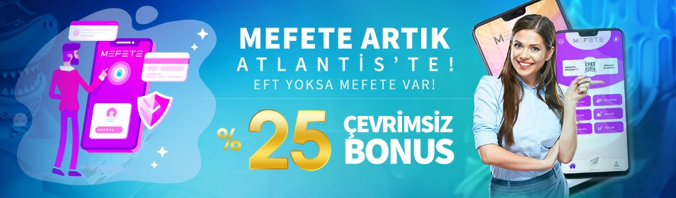 Atlantisbahis'te Çevrimsiz Bonus
