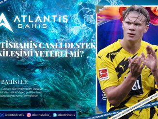 Atlantisbahis Canlı Destek Etkileşimi Yeterli Mi