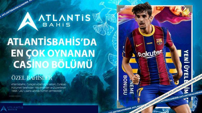 Atlantisbahis'da en çok oynanan casino bölümü